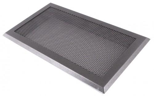 Вентиляционная решетка графит 16х32