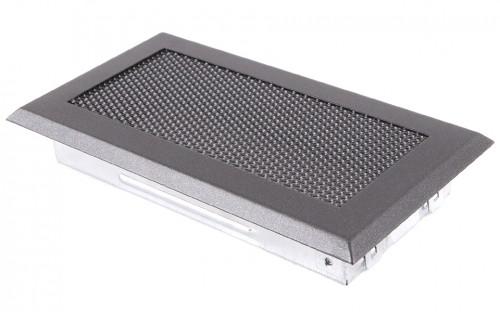 Вентиляционная решетка графит 10х20