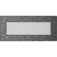 фото Вентиляционная решетка KRATKI черно-серебряная 11х24