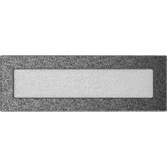 фото Вентиляционная решетка KRATKI черно-серебряная 11х32