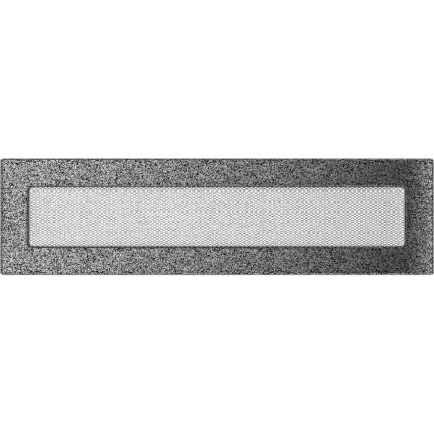 Вентиляционная решетка KRATKI черно-серебряная 11х42