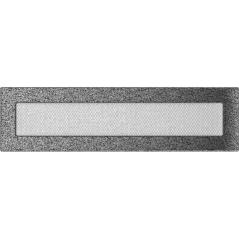 фото Вентиляционная решетка KRATKI черно-серебряная 11х42