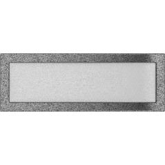 Вентиляционная решетка KRATKI черно-серебряная 17х49