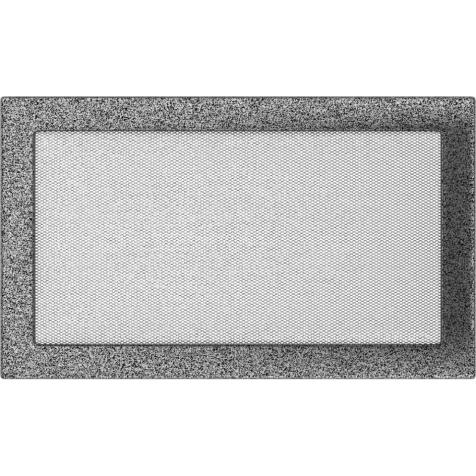 Вентиляционная решетка KRATKI черно-серебряная 22х37
