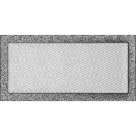 Вентиляционная решетка KRATKI черно-серебряная 22х45