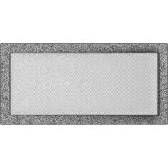 фото Вентиляционная решетка KRATKI черно-серебряная 22х45