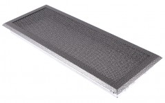 фото Вентиляционная решетка старое серебро 16х45
