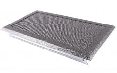 фото Вентиляционная решетка старое серебро 16х32