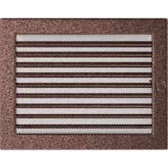 Вентиляционная решетка KRATKI медная 22х30 жалюзи