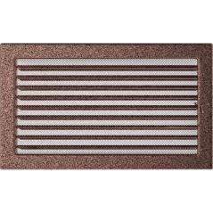 Вентиляционная решетка KRATKI медная 22х37 жалюзи