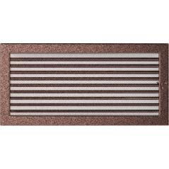Вентиляционная решетка KRATKI медная 22х45 жалюзи