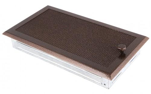 Вентиляционная решетка старая медь 16х32 жалюзи