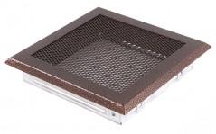 Вентиляционная решетка старая медь 16х16