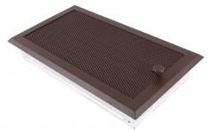 Вентиляционная решетка бронза brokatowy 16х32 жалюзи
