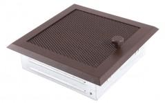 Вентиляционная решетка бронза brokatowy 16х16 жалюзи