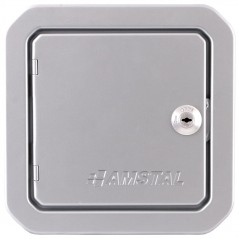 Дверка ревизионная серебряная 140х140 мм
