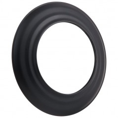 Розета черная Ø120