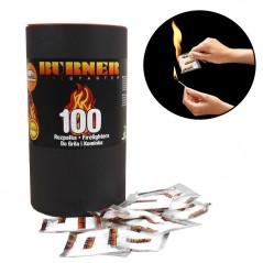 Разжигатель для костра BURNER tuba 100 шт.
