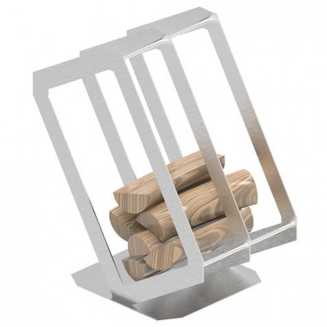 Корзина для дров P3 inox