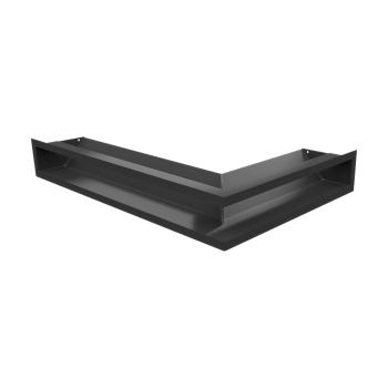 LUFT угловой левый черный 60x40x9